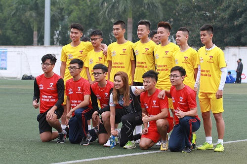 Học sinh Hà Nội tranh Cup Number 1 Active - Doisong